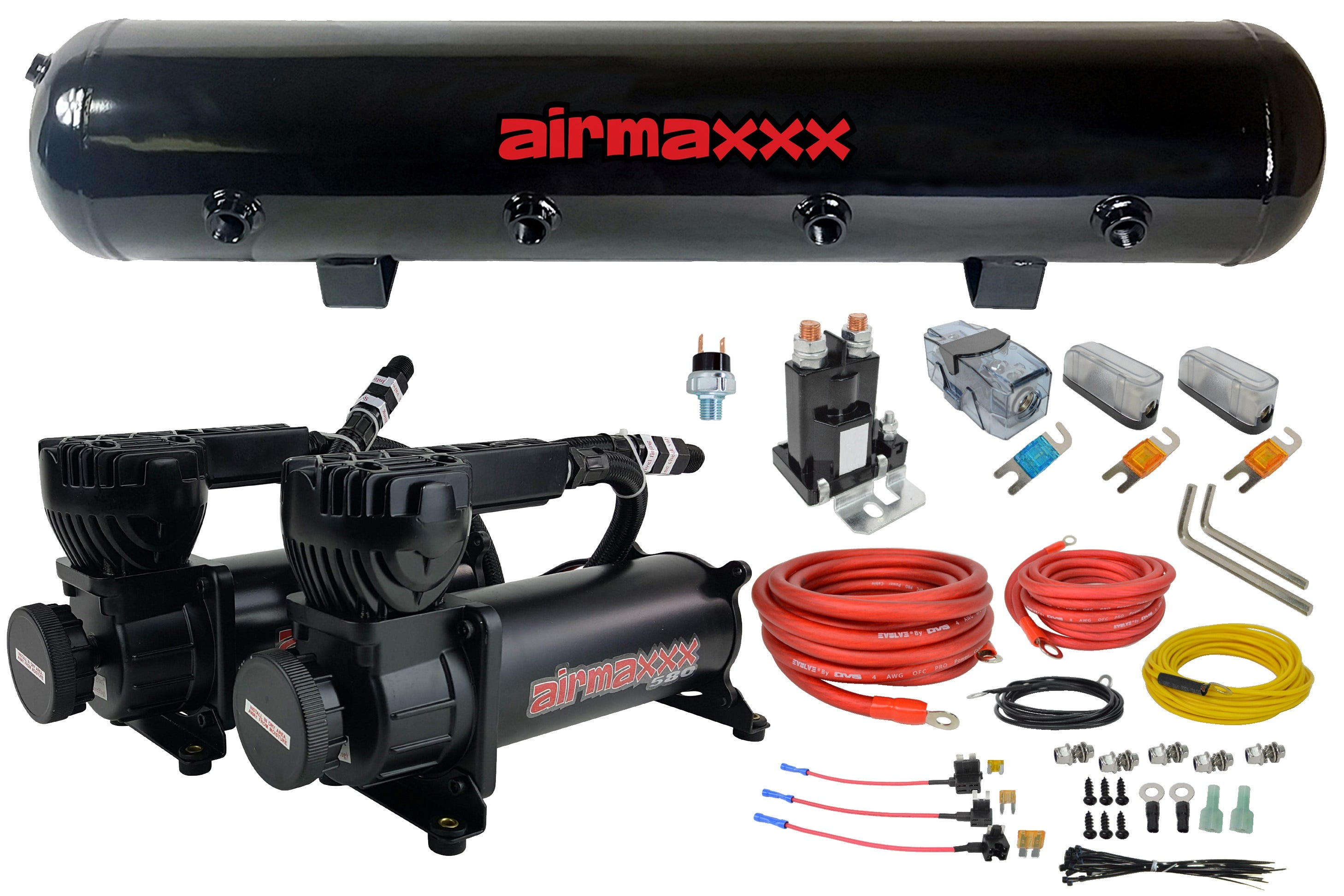 Air Compressor and Air Tanks