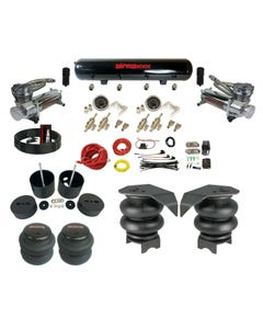 99-06 Chevy C15 Complete 3/8 Manual DLOE65 Air Ride Suspension Kit AirBag
