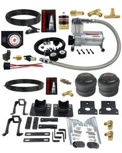airmaxxx Air Over Load Tow Assist Kit w/White Gauge Fits 2005-10 Ford F250 2WD
