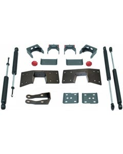 "1999-2006 Chevy Silverado 1500 2wd 5"" Lowering Kit W/ Front And Rear MaxTrac Shocks - MaxTrac 200950"