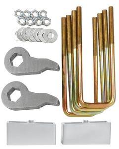 "Lift Kit Front Torsion Keys Rear 2"" Blocks 88 - 98 Chevy 1/2 Ton 6 Lug Truck & SUV"