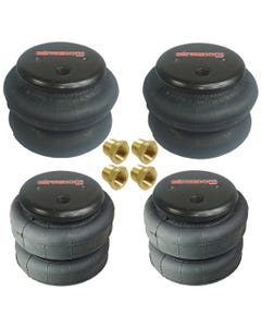 """(2) - 2500 AND (2) - 2600 3/8"""" PORT AIR BAGS"""