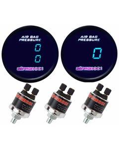 Single 150psi Dual Needle Air Gauge