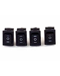 Rocker Switch Momentary On/Off/On Air Ride Suspension Train Horn 4 Switches