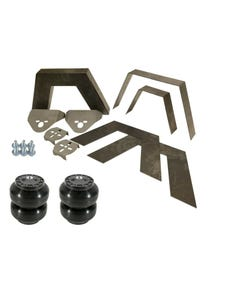 "Rear Universal Weld on Kit 8"" Frame Notch Triangulated 4 Link Slam SS-6 Bags"