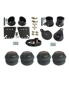 1958-64 Impala / Caprice Front Rear Air Bag Bracket Kit w/ 3/8ths Hose and Fittings