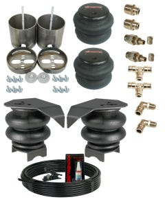1988-1998 GM 1500 Front & Rear Air Ride Suspension  2600 Air Bags  Mounting Brackets and Manual Inflation Kit