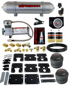Air Tow Assist Kit w/Compressor, Tank & Controls For 99-06 Chevy Silverado 1500