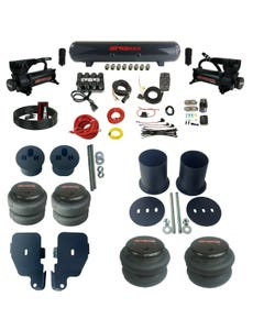 Complete Bolton Air Ride Suspension Kit 65-70 GM Cars Manifold Valve Bags Steel