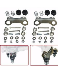 Air Compressor Vibration Isolator Upgrade Feet for Single Viair 480 Chrome Kits