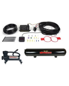 "Air Lift Autopilot V2 3/8"" Digital Air Bag Suspension Black Air Compressor Tank"
