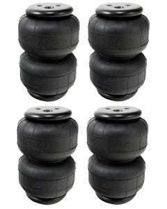 4 Air Lift Air Bags 58343 Dominator D2500 Custom Air Ride Suspension Air Spring