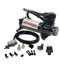airmaxxx 480 Black Air Compressor & Air Intake Filter Relocator 180psi Kit