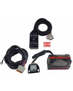 airmaxxx X4 Solenoid Valve Air Manifold, Wiring Harness & AVS 7 Blk Switchbox