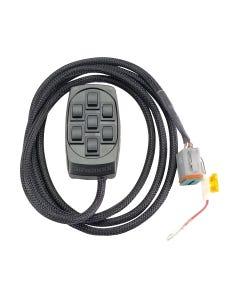 airmaxxx X7 Black 7 Switch Box Controller Rocker Air Ride Suspension FBSS Control