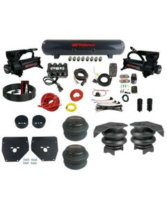 Complete Air Ride Suspension Kit 73-87 GM C10 Evolve Manifold Bags Steel Tank