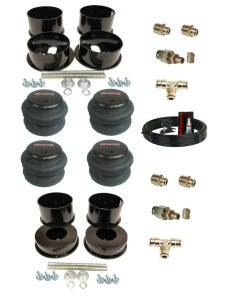 1971-96 Chevy B-Body Front & Rear Air Bags And Brackets With 3/8ths Line and Fittings