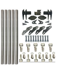 """Parallel 4 Link Kit Universal Weld on Application 1.25"""" x 20"""" Bars LH and RH End"""