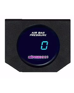 Digital Air Ride Gauge & Display Panel No Switches 200 psi Air Suspension System