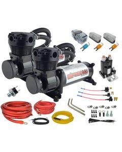 airmaxxx 480 black air compressor dual pack & wiring kit