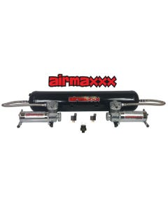 Airmaxxx 200psi Dual Air Compressor Pack and 5 Gallon Steel Tank