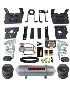 Air Bag Tow Kit Black Control Compressor & Tank For 2011-16 Ford F250 F350 4x4