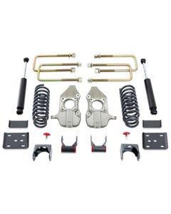 "2015-2019 Ford F-150 2wd 3/5"" Lowering Kit W/ MaxTrac Shocks - MaxTrac K333235-8"
