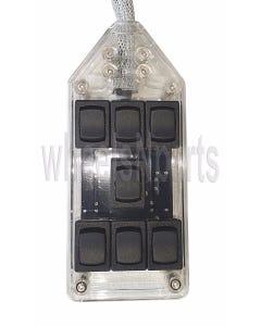 AVS 7 Switch Box (clear, rocker)