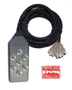 AVS 7 Switch Box (black, toggle)