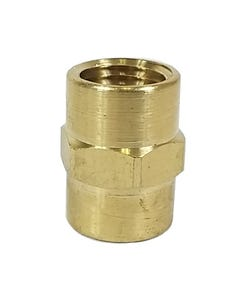 """Straight Male Thread Connector Air Hose Fitting 1/4"""" Female NPT x 1/4"""" Female NPT"""