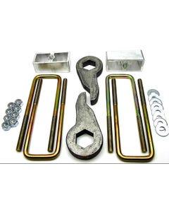 """Lift Kit Chevy 1999 - 2006 1500 4X4 Truck Forged Torsion Keys 2"""" Aluminum Blocks"""