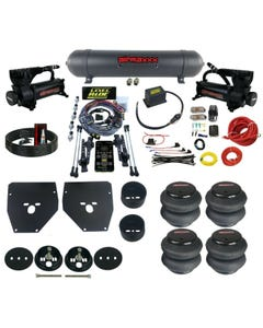 Complete 3 Preset Height Pressure Level Ride Air Suspension Kit 63-72 C10 Bolton