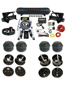 3 Preset Heights Complete Bolton Air Ride Suspension Kit Cadillac 63-64 Manifold