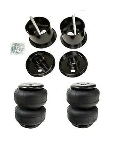 61-62 Cadillac Front Air Ride Suspension Kit Airlift D2500 Airbags Mounting Cups