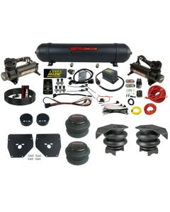 Complete Air Ride Suspension Kit 73-87 C10 Level Ride 3 Preset Bluetooth APP 480