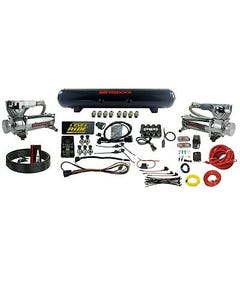 Levelride Pressure only Airmaxxx Chrome 580 Air Management w/ Complete Wire kit