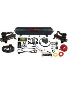 Level ride Pressure Manifold Airmaxxx Black 480 Spun Aluminum Air Management