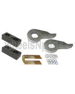 "Lift Kit Torsion Keys 2"" Cast Steel Blocks 1999 - 06 Chevy 6 Lug 4X4 Trucks"