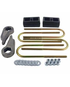 """Lift Kit Cast Torsion Keys & 2"""" Cast Steel Blocks 1998 - 10 Ford Ranger 4X4 4X2"""