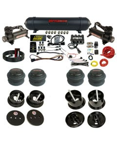 3 Preset Pressure Complete Bolt Air Ride Suspension Kit 61-62 Cadillac Manifold