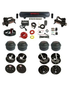Complete Bolton Air Ride Suspension Kit 63-64 Cadillac Manifold Valve Bags Steel