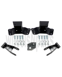 "4"" Lowering Drop Shackles & Hangers Kit 1988-98 Chevy 1500 Truck"