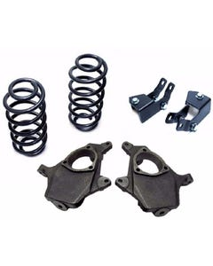 """2000-06 Chevy Tahoe GMC Yukon 2"""" / 4"""" Lowering Suspension Drop Kit Spindle Coil"""