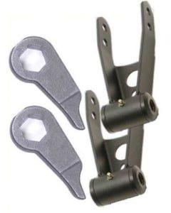 Lift Kit Forged Torsion Keys Front & Lift Shackles Rear Ford Ranger 4X4 1998-11