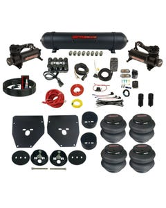 Complete Air Ride Suspension Kit 63-72 C10 Evolve Manifold Bags Seamless Tank