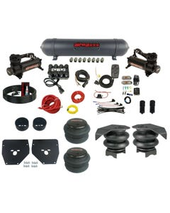 Complete Air Ride Suspension Kit 73-87 GM C10 Evolve Manifold Bags Aluminum Tank
