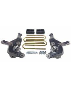 """Lift Kit 4"""" Front Spindles 2"""" Rear Cast Steel Blocks 99-10 Ford Ranger Edge"""
