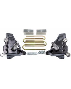 "3.5"" Front Lift Spindles F150 2"" Rear Aluminum Blocks Kit 1997 - 2003 2WD Ford"