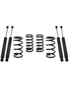 "1965-1972 Chevy C10 2wd 2/4"" Lowering Kit W/ Shocks - MaxTrac K331124"