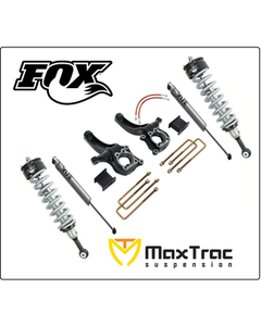 "2015-2019 Chevy Colorado 2wd 6.5"" Lift Kit W/ Fox Coil Overs & Rear Shocks - MaxTrac K880463F"